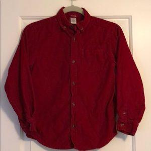 Gymboree corduroy shirt